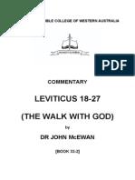 33-2 Leviticus Ch 18-27