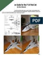 F-14 Park Jet Construction Guide