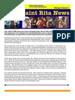 St Rita News Volume 3 Issue 9