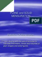 mensuration notes