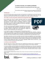 Nueva Norma ISO 14001 Para El 2015...