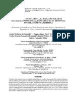 Avaliação da radiação solar na distribuição superficial da vegetação na península Potter, Antártica Marítima.pdf