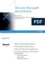 VNX and Microsoft Best Practice