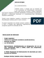 01 - Regulação - O Papel Regulador Do Estado