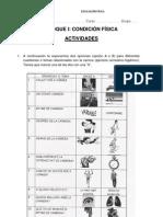 ACTIVIDADES DE CONDICIÓN FÍSICA Ficha 4