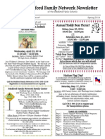 Medford Family Network Spring Newsletter 2014