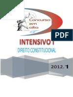 1 - 26-01-12 - Direito Constitucional e Constituição