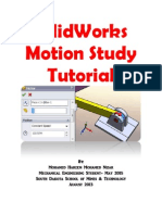 SolidWorks Motion Analysis