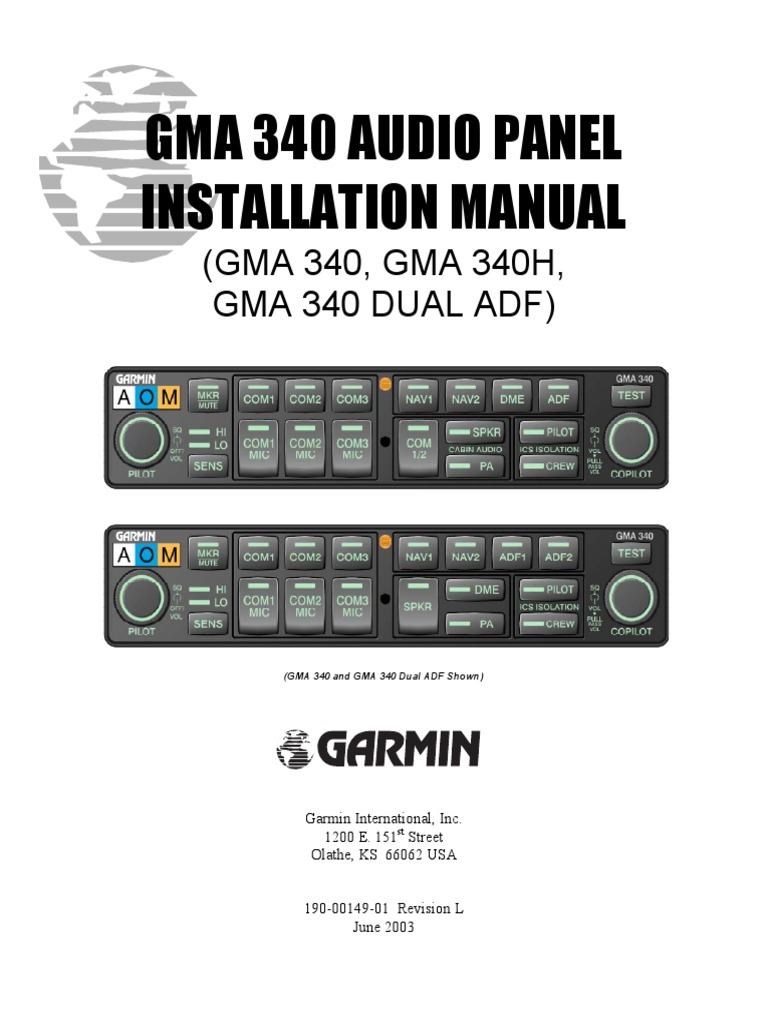installation manual and wiring gma 340 ultimate user guide u2022 rh megauserguide today Quick Installation Guide Installation Guide