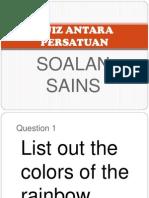 Quiz Antara Persatuan