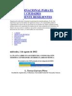 Red Internacional Para El Diseño de Ciudades Sísmicamente Resilientes22222