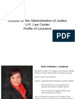 Philippine Law Lecturers