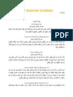Ayat Ruqyah Penuh Jbtn Mufti Ns