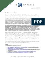 Kase Fund Letter to Investors-Q1 14