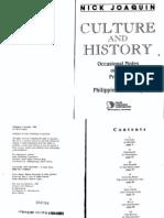 Joaquin, Culture and History