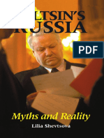 Yeltsin's Russia: Myths and Reality