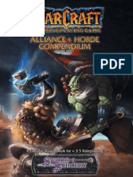 World of warcraft manual | Races And Factions Of Warcraft