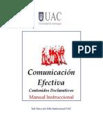 Manual Comunicacion Efectriva Contenidos Declarativos