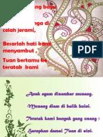 Pantun Welcome