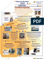 Beit Issie Shapiro Milestones Newsletter Issue #2 April 2009