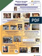 Beit Issie Shapiro Milestones Newsletter Issue #3 June 2009