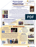 Beit Issie Shapiro Milestones Newsletter Issue #4 August 2009