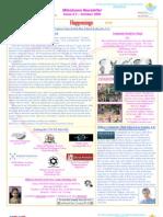 Milestones Newsletter Issue #5 October 2009