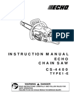 CS4400 Owners Manual