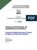 FIUBA - Protocolo de Mediciones Para Trazado de Mapas de Ruidos Normalizados