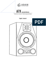A7X Manual