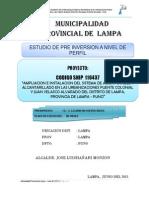 Municipalidad Provincial de Lampa