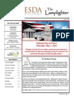 May 2014 Lamplighter