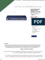 Router Balanceador Tp-link Tl-r470t+ 100mbps 2 3 Y 4 Wan - BsF 2