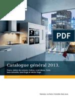 Catalogue Siemens 2013