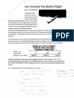 parabolic flight project gem murray math 1010