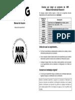 Manual Spirobank g