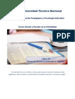 F. Diseño de Recursos Didácticos Digitales