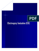 ESI_ionSource Mass Spectrometry