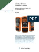 70180568 Agilent U1730 Series Handheld LCR Meters