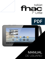 Manual Tablet FNAC 7 Little