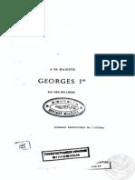 La Grèce Économique Et Financière, D.georgiades