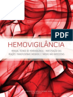 Anvisa Manual Técnico de Hemovigilância
