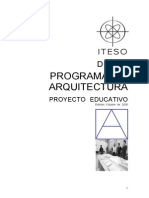 Arq Plan Estudios Versión 27-10-06 Para Prup