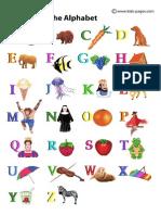 Alfabetul in Engleza