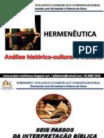 Hermenêutica Aula 5