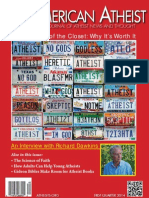 American Atheist Magazine First Quarter 2014