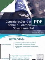 Conteúdo Inicial - Aulas Planejamento Governamental 1º Sem. 2014