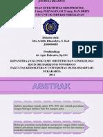Perbandingan Misoprostol Pervaginam, Misoprostol Sublingual, dan Drips Oksitosin Untuk Induksi Persalinan (JURNAL)