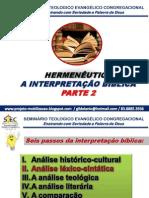 Hermenêutica Aula 6