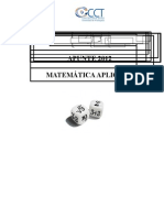 Matemática Aplicada 2012